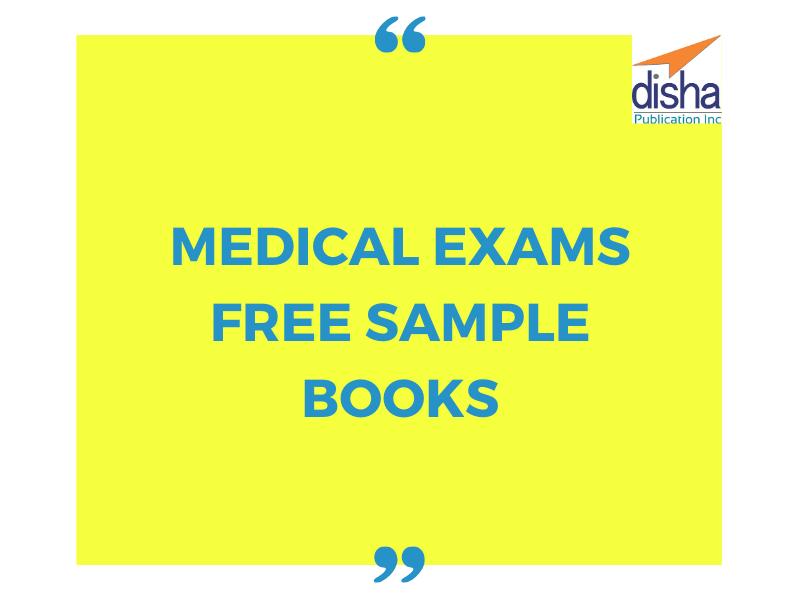 Medical Exams Free Sample Books