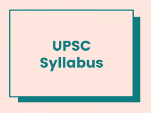 upsc syllabus download