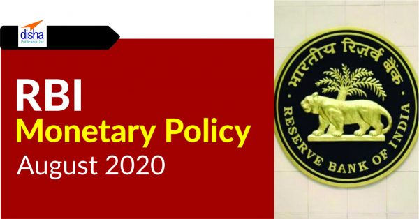 RBI Monetary Policy August 2020
